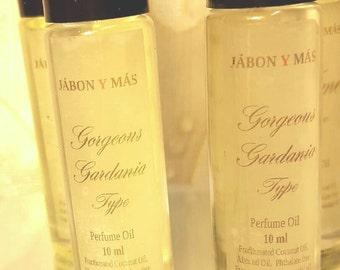 Gorgeous Gardenia Type Perfume Oil - Alcohol free