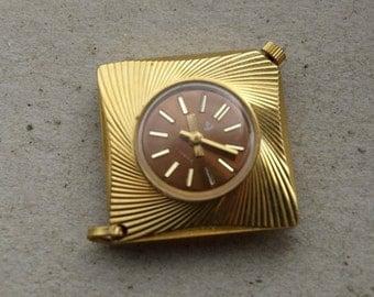 "Vintage Pendant watch ,Womens watch ,Watch pendant ,Vintage Watch ,Russian watch ,Mechanical watch , men's watch ""Chaika"