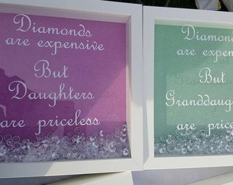 Diamonds are expensive