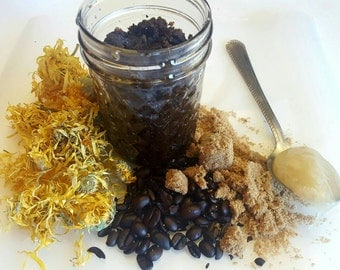 SOLD OUT Coffee brown sugar and honey facial scrub