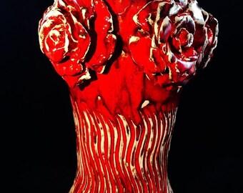 "Vase ""The roses"""