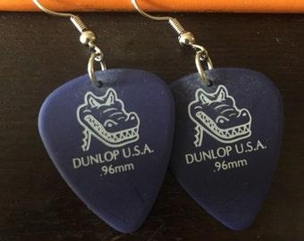 SALE!!! Now 5! Dunlop U.S.A. Guitar Pick Earrings