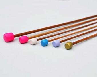 Multicoloured Knitting Needle Set