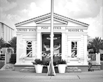 Seaside, FL Post Office 30A Print