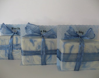 Blue Sky Handmade Soap