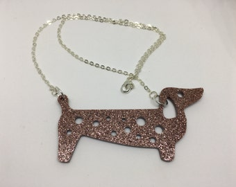 Colin the Dachshund necklace