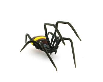 Handmade glass figurines Spider (Big size)