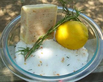 Lemongrass / Rosemary Cold Process Soap