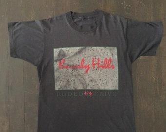 1990s Vintage Beverly Hills 90210 T Paper Thin