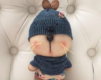 Cute handmade mouse