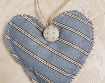 Lavender heart shaped hanging sachet