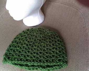 Crochet summer weight slouch style beanie
