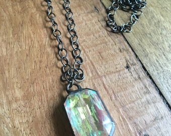 Chain layering pendant necklace-versatile-everyday-minimalist-20and under