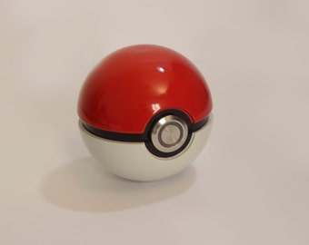 Pokeball Metal Sphere