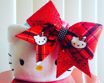 Red HEllo Kitty bow
