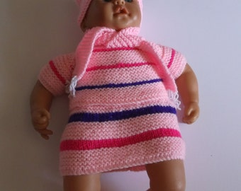 Hand Knitted Woollen Dolls clothes
