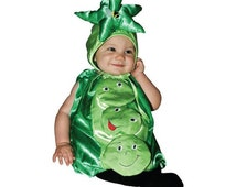 Infant Sweet Pea Costume, Baby Sweat Pea Costume, Cute Sweet Pea Baby Halloween Costume A17