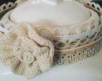 boho chic baby headband