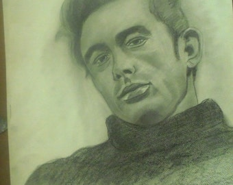 Drawing James Dean