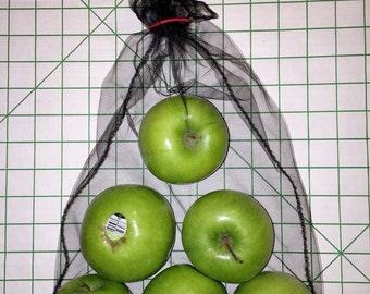 Mesh Produce Shopping Bags - 3 Pack, L