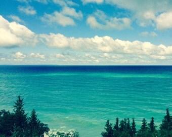 Pure Lake Michigan