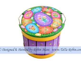 222 Eggs Galore Decorative Painting Pattern