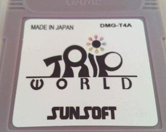 Trip world for gameboy