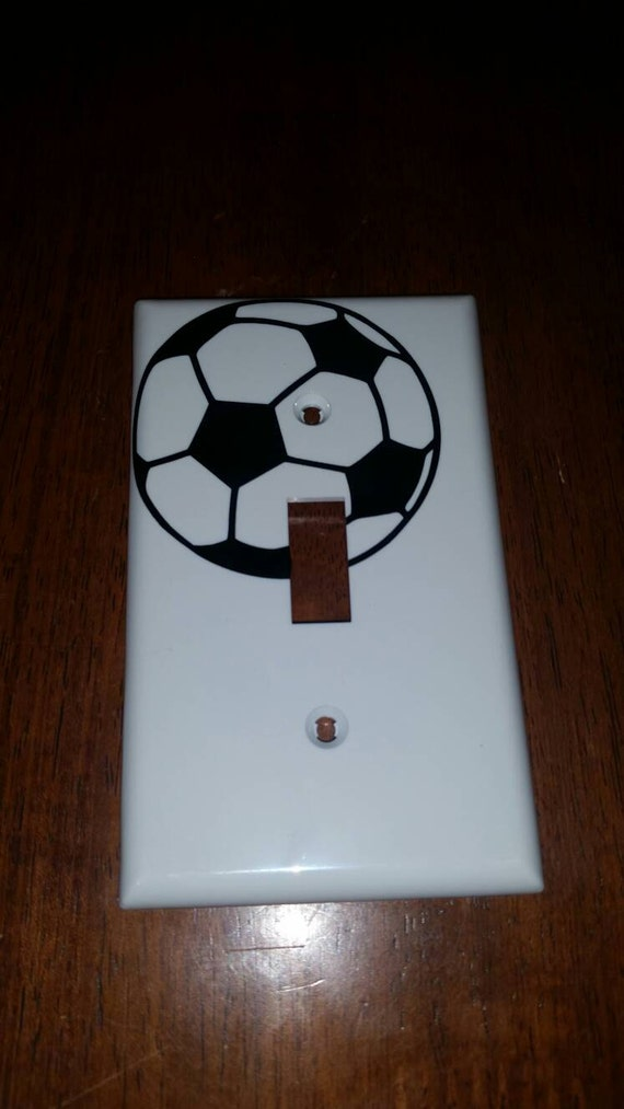 Sports Light Switch Covers Boys Room Girls Room Bedroom