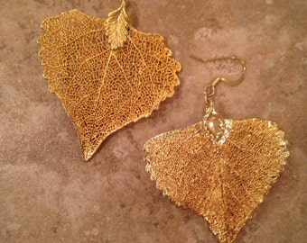Leaf gold plated
