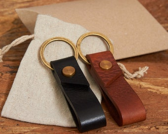 Handmade Leather Keychain