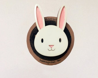 Bouncing Bunny Badge