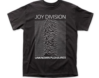 Joy Division unknown pleasures adult tee - JD02(Black)