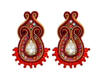 Earrings Soutache Rania S4