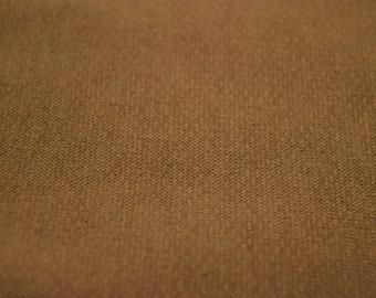 Poly Cotton Sweatshirt Fleece Fabric by the Yard Khaki (LT2)