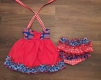 MLB tunic and bloomers
