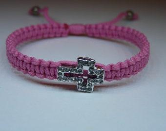 Crystal Cross Friendship Bracelets