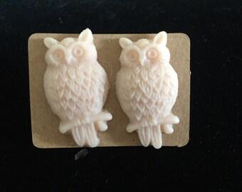 Owl Earrings #Kitsch