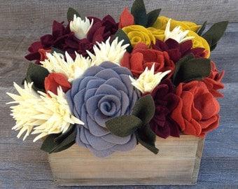 Fall Flower Arrangement, Wedding Flower Centerpieces, unique flower arrangement, artificial flower arrangement, fake flower arrangement