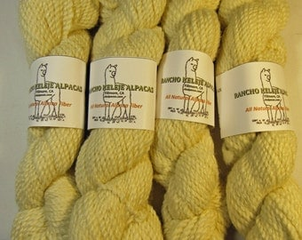 Fine Worsted Alpaca Yarn