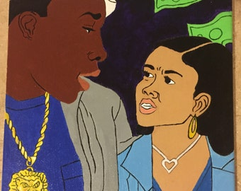Paid in Full Ace Boogie and Keisha 9x12