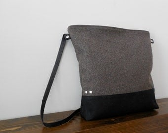 Wool Cashmere Day Bag