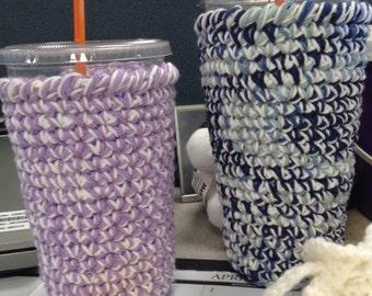 Dunkin Donuts Cup Cozy Crochet Pattern