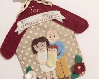 Customizable Family Decoration