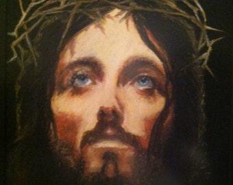 Jesus giclee print on canvas