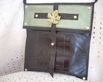 Woodland  - Leather Mini Messenger Bag