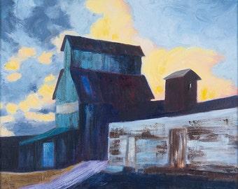 """Grain Mill 11""""x14"""" fine art print"""
