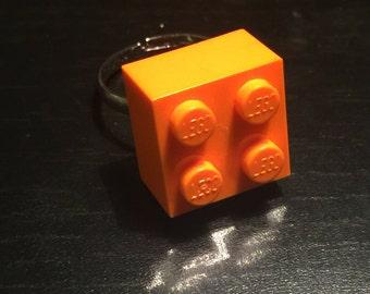 LEGO Ring Orange