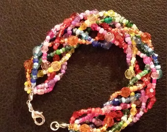 "Bracelet ""Rainbow revolution"""
