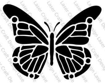 Butterfly Stencil No.5