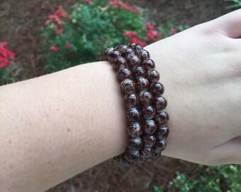"SALE!!!!!!!The ""CHOCOLATE SPECKLE"" bracelet"